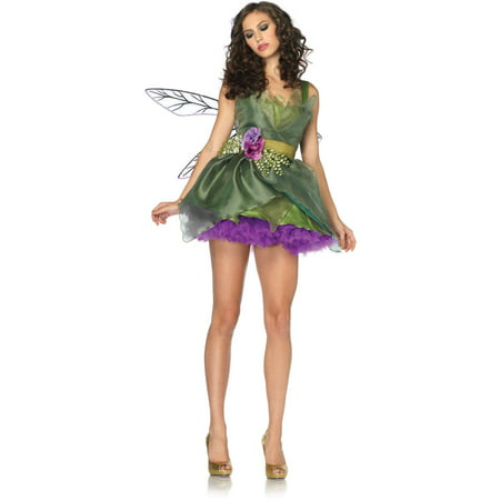 Leg Avenue Women's Green Woodland Fairy Halloween Costume - Woodland Animal Costumes
