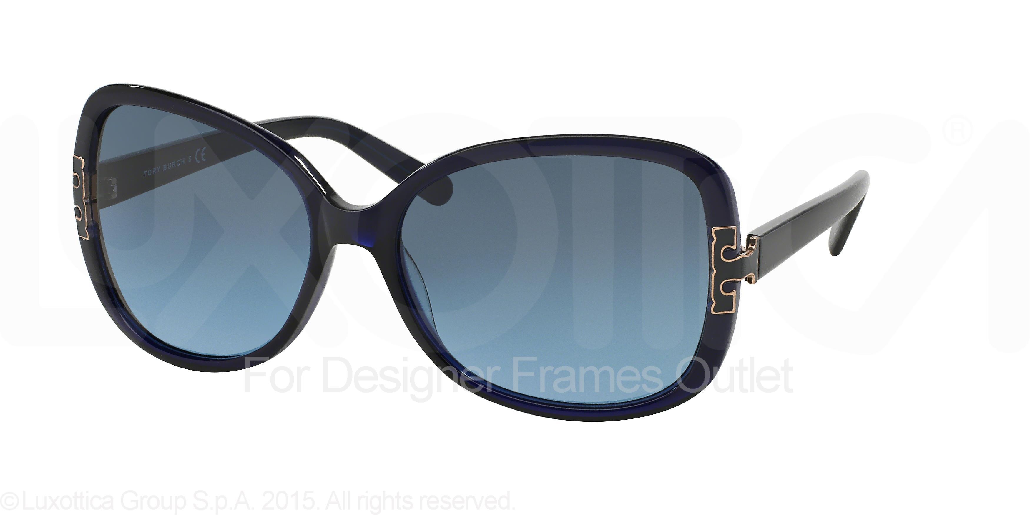 b437020496b0 Tory Burch - TORY BURCH Sunglasses TY 7022 511/17 Navy 59MM - Walmart.com
