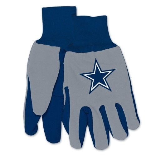 Dallas Cowboys Non Slip Utility Work Gloves
