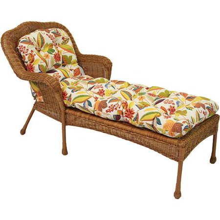 Blazing needles all weather u shaped padded outdoor chaise for All weather chaise lounge