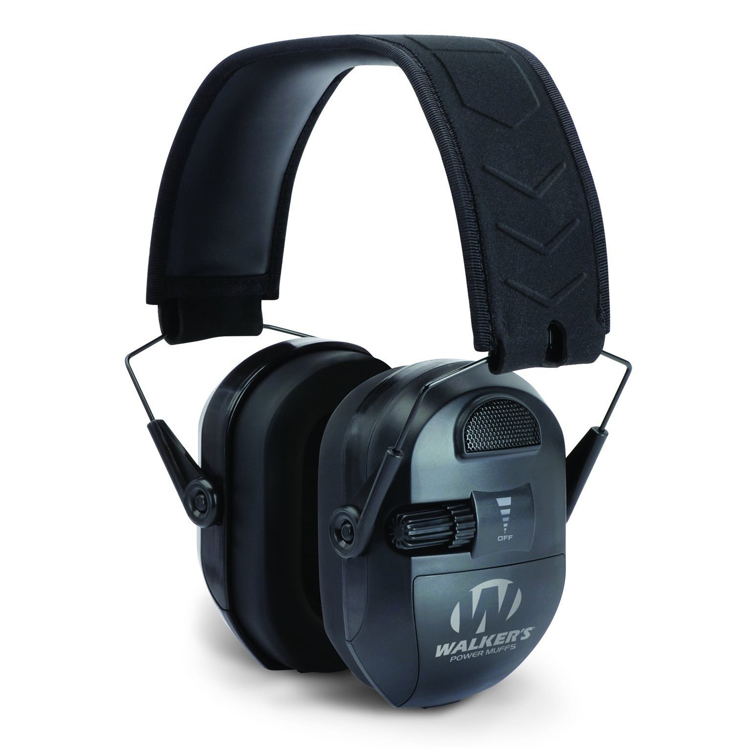 WALKERS GAME EAR ULTIMATE SERIES POWER MUFF BLK EARMUFF 27 DB