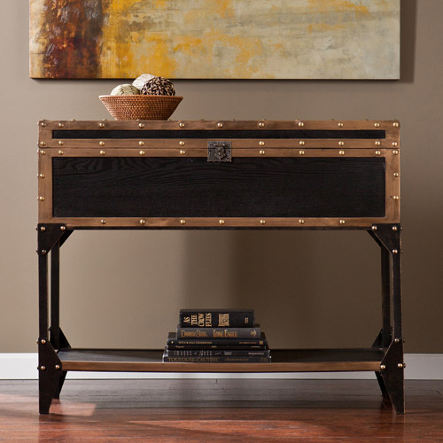 Charles Travel Trunk Sofa Table by