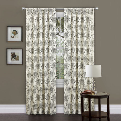 Special Edition by Lush Decor Oxford Rod Pocket Single Curtain Panel