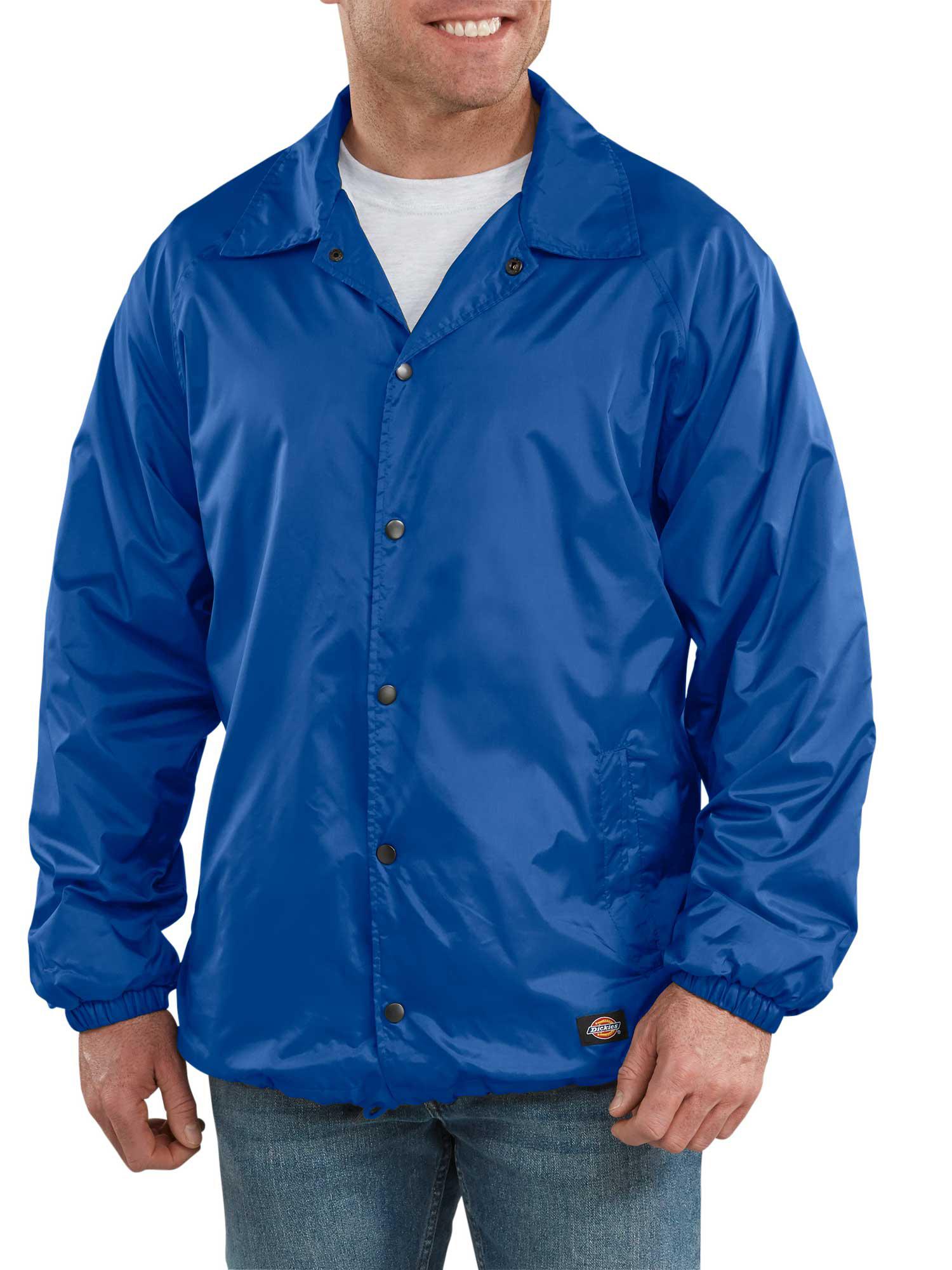 Men's Snap Front Nylon Jacket