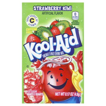 Kool Aid Drink Mix  Strawberry Kiwi   17 Oz  1 Count