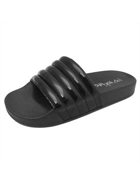 13f6d0343 Black Girls Sandals   Flip Flops - Walmart.com