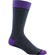 Darn Tough Vermont Merino Wool Classic Stripe Mid-Calf Sock - Men's Navy Medium