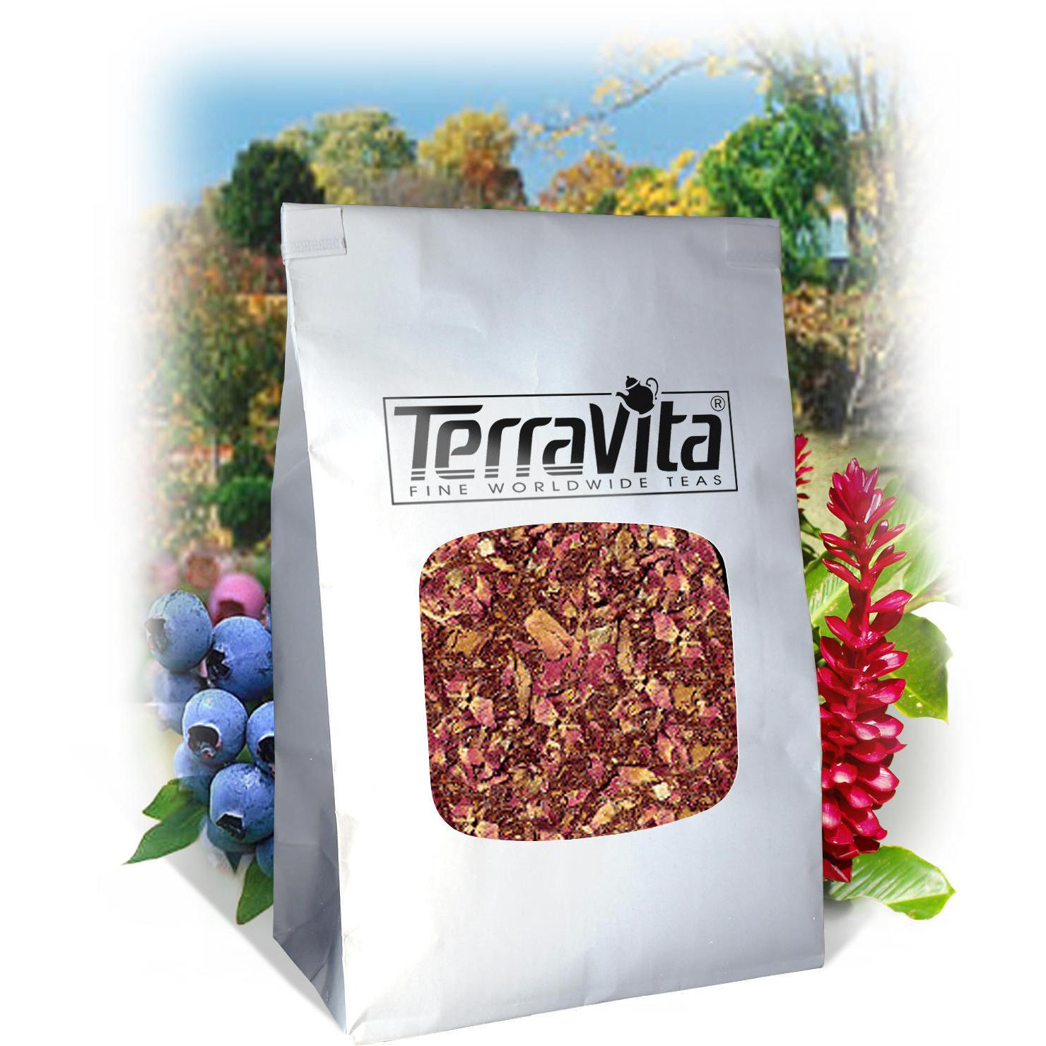 Cherry Rose Rooibos Tea (Loose) (8 oz, ZIN: 510528) by TerraVita