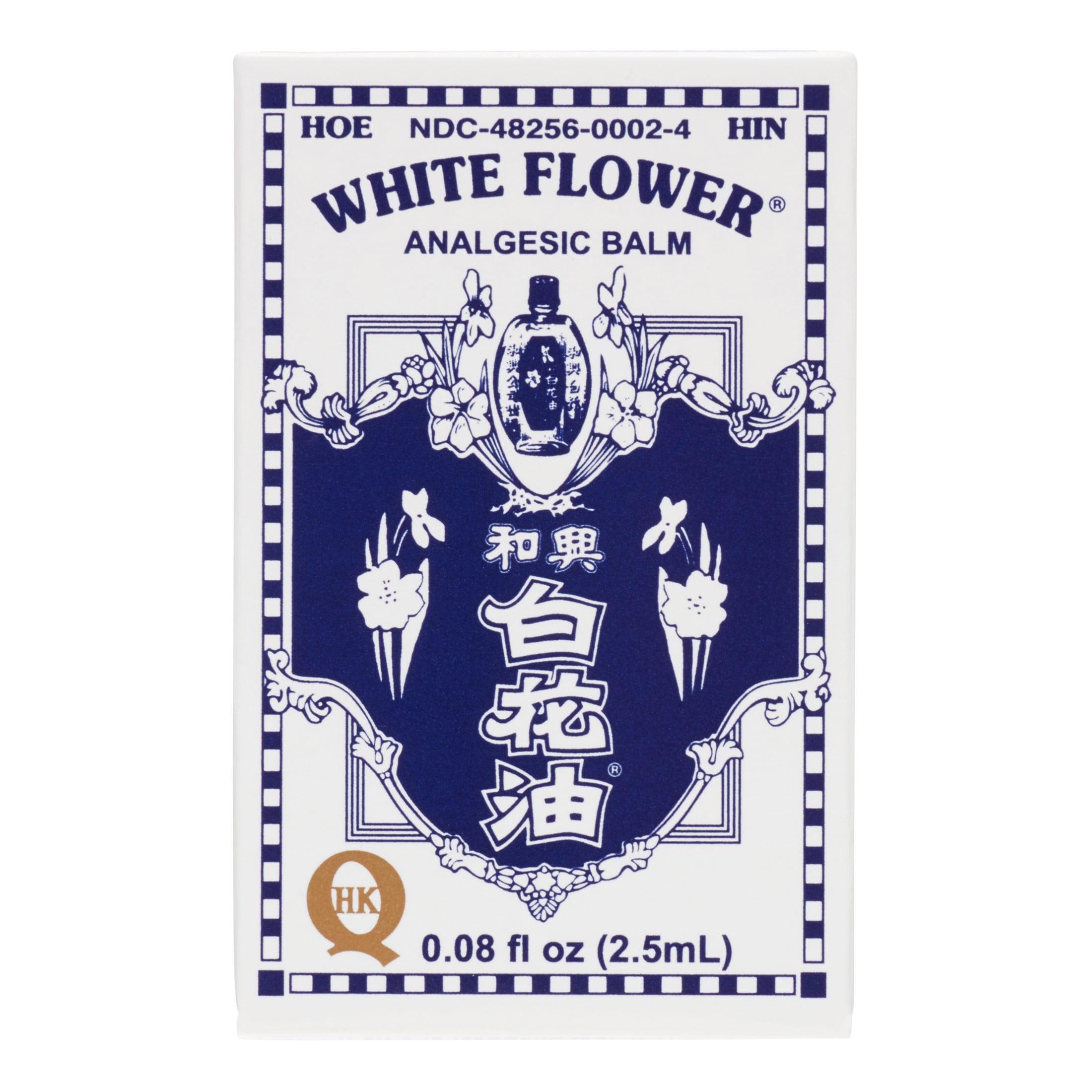 White Flower Analgesic Balm 008 Oz Walmart