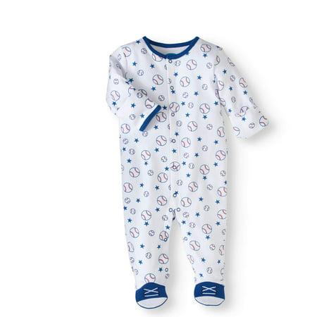 Bon Bebe Newborn Baby Boy Sleep N Play With Mitten
