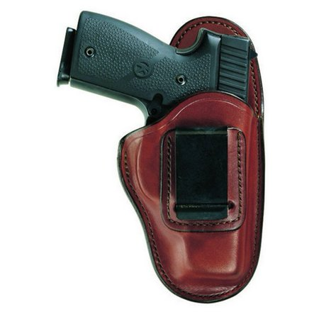 Bianchi 26083 Professional Belt Holster Tan Leather LH for S&W M&P Shield