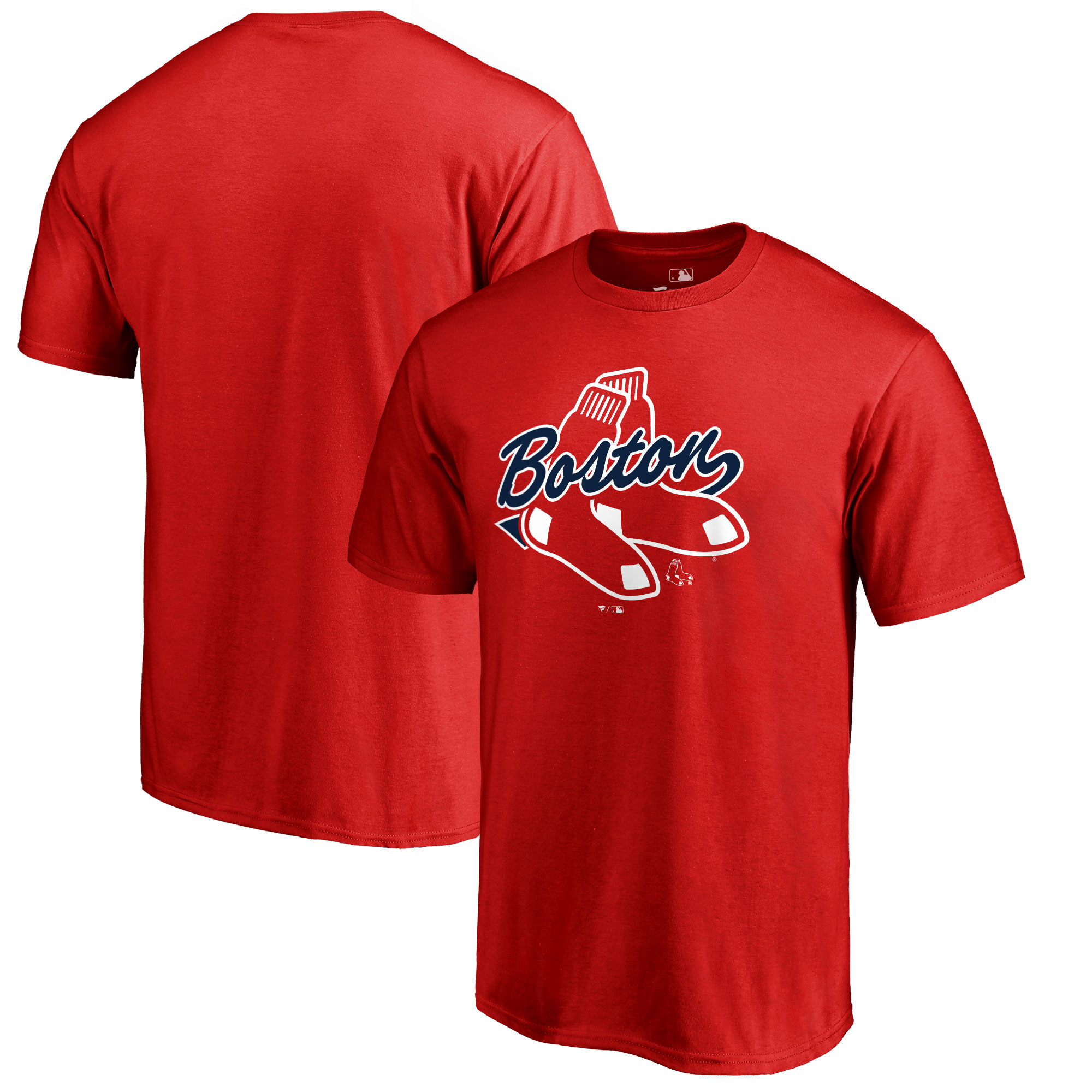 Boston Red Sox Fanatics Branded Big & Tall BoSox Hometown Collection T-Shirt - Red