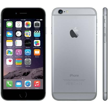 refurbished apple iphone 6 64gb gsm smartphone unlocked. Black Bedroom Furniture Sets. Home Design Ideas