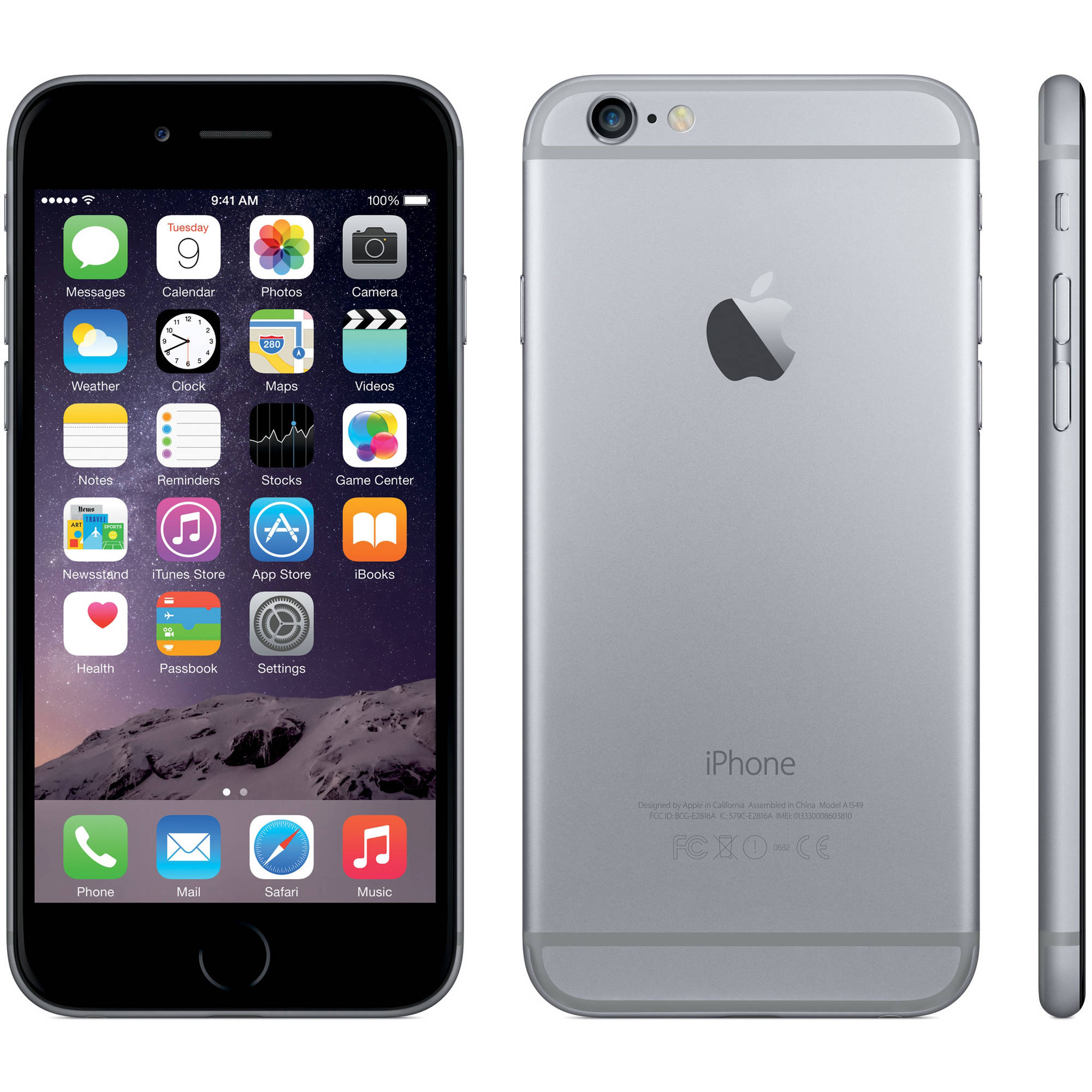 Refurbished Apple iPhone 6 64GB GSM Smartphone (Unlocked)