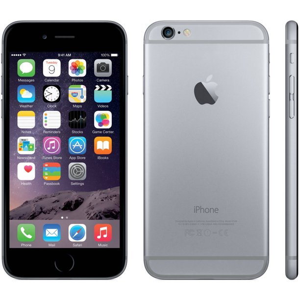 Refurbished Apple iPhone 6 64GB, Space Gray - Unlocked GSM