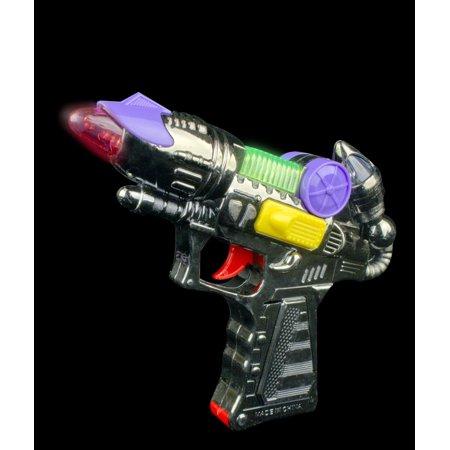 LED Mini Blaster Gun with Sound (Mini Led Scrolling Text)