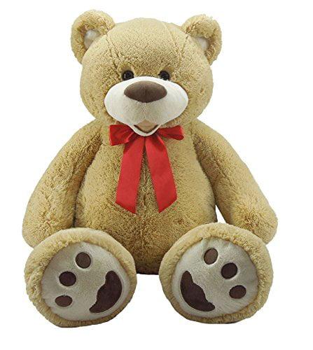 "Goffa Sitting Tan Bear, 51"""