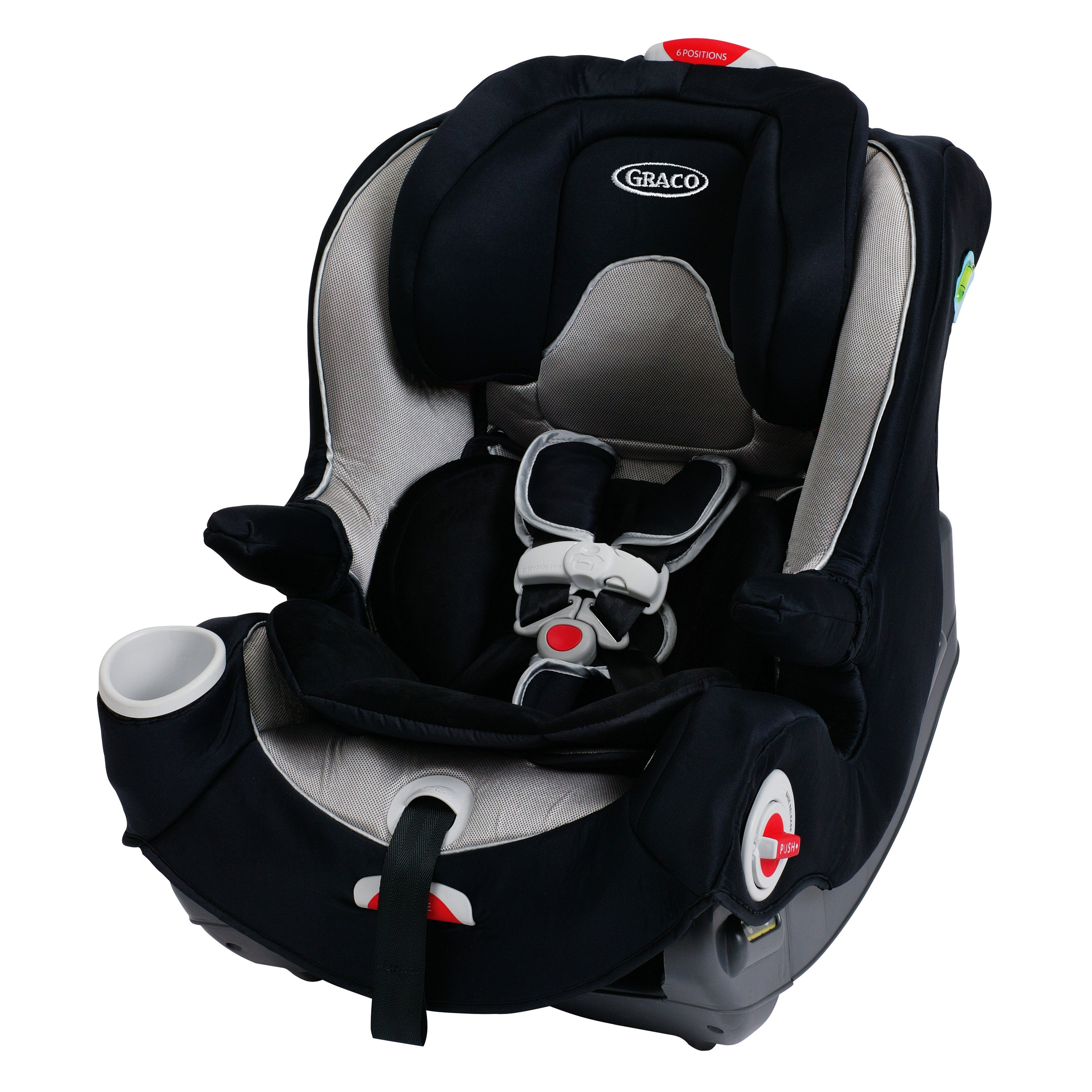 Graco Smart Seat All-in-One Convertible Car Seat, Ryker