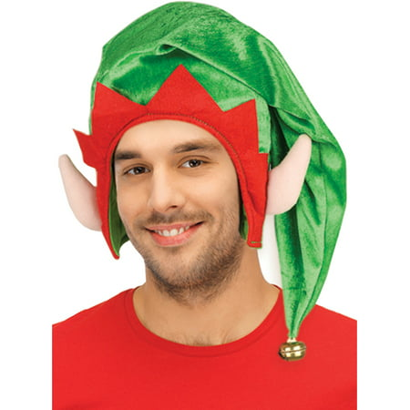 Adult Shoping (Adults Christmas Santa's Toy Shop Elf Green Hat With Ears Costume)