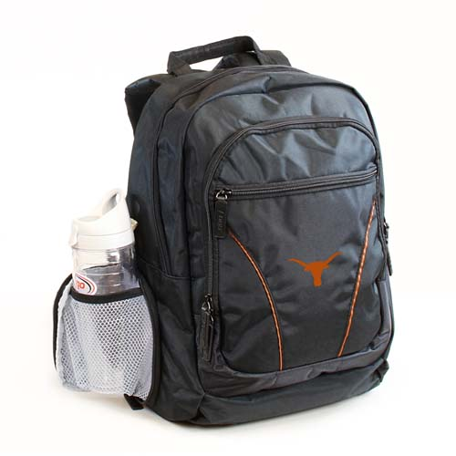 """Texas Longhorns Official NCAA 18""""x15""""x2"""" Stealth Backpack by Logo 218623"""