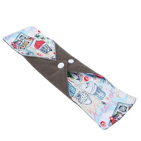 Ejoyous 10 Types Reusable Washable Bamboo Charcoal Fiber Cloth Menstrual Sanitary Mama Pad Panty Liner , Cloth Menstrual Pad, Bamboo Charcoal Pad - image 1 of 7