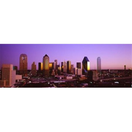 Panoramic Images PPI82814L Dallas  Texas  USA Poster Print by Panoramic Images - 36 x 12 - image 1 of 1