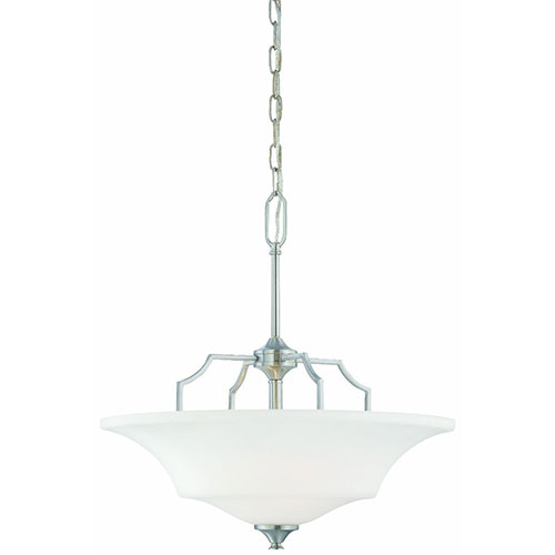 Thomas Lighting SL892578 Chiave 2 Light Pendant In Brushed Nickel Finish by Thomas Lighting