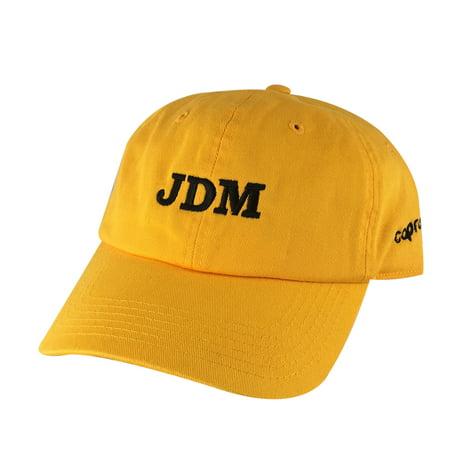 JDM Team Unstructured Hat Dad Cap Honda Toyota Suburu Lexus Nissan - Gold  Black - Walmart.com 5bd8b19645d