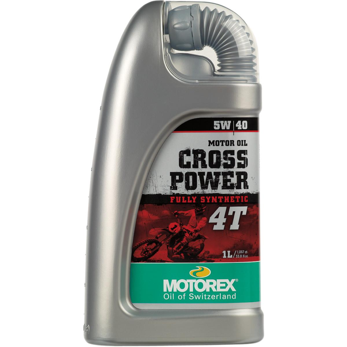 Motorex 102278  /196052 Top Speed 4T Oil - 5W40 - 1L.