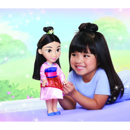 "Disney Princess Mulan 14"" Toddler Doll"