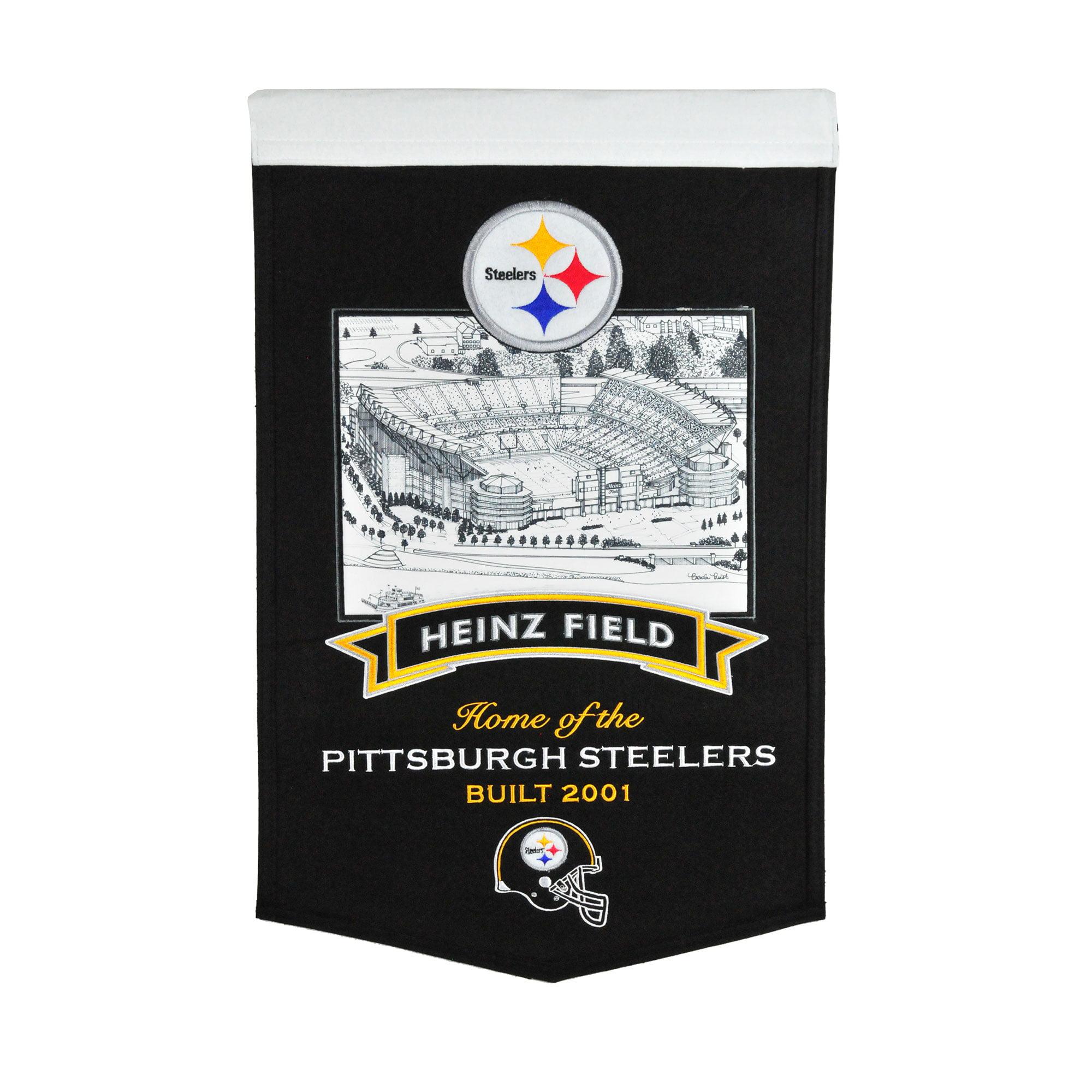 "Pittsburgh Steelers 15"" x 24"" Stadium Banner - No Size"