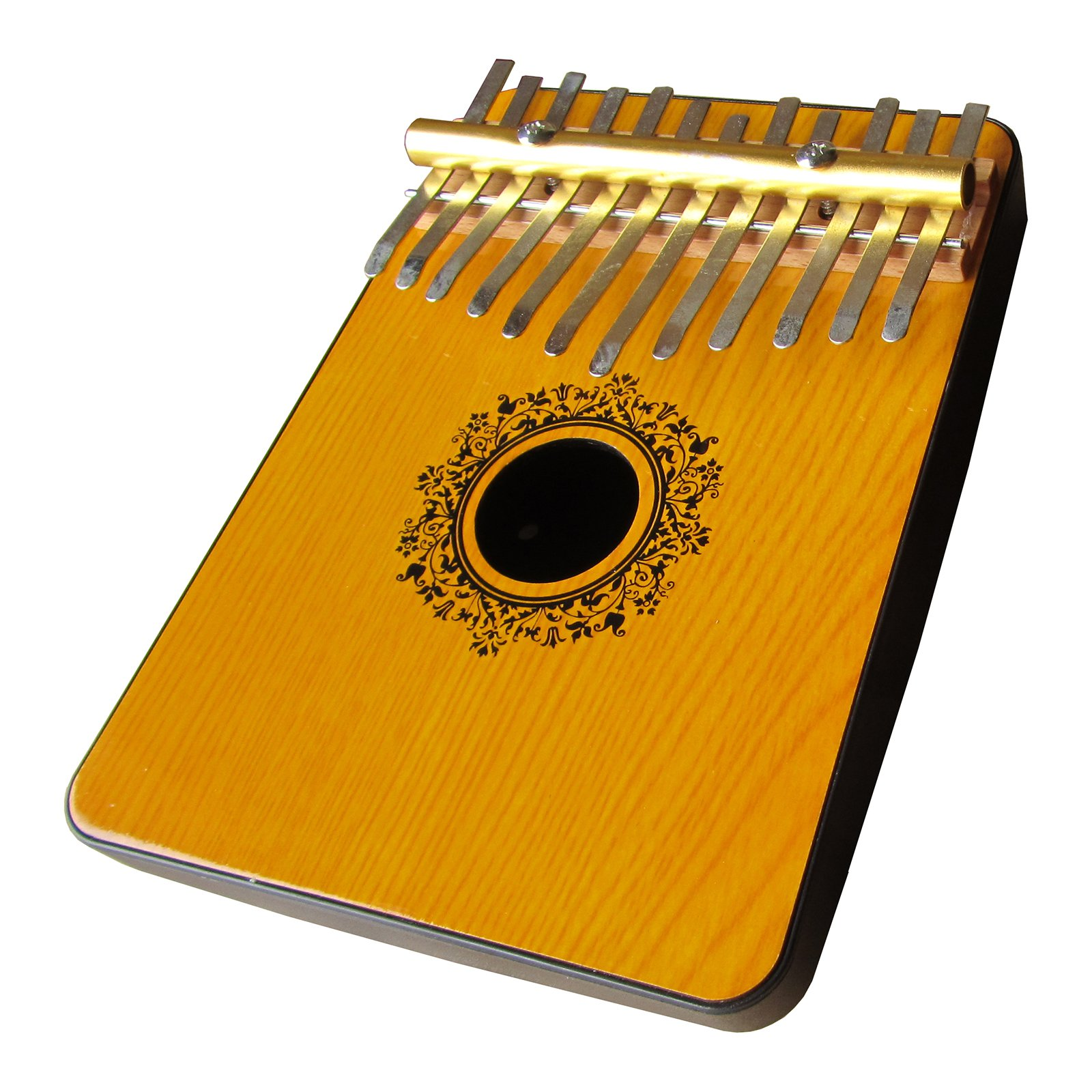 Oak Mahognay 12 Note Thumb Piano