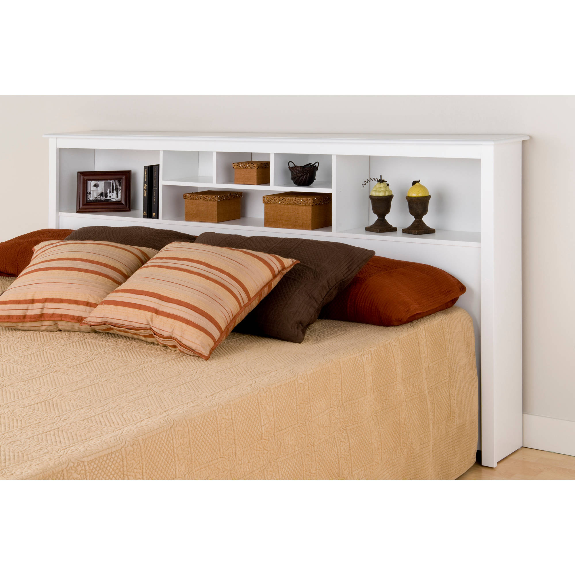 Charmant Prepac Brisbane Full Queen Storage Headboard, Black   Walmart.com