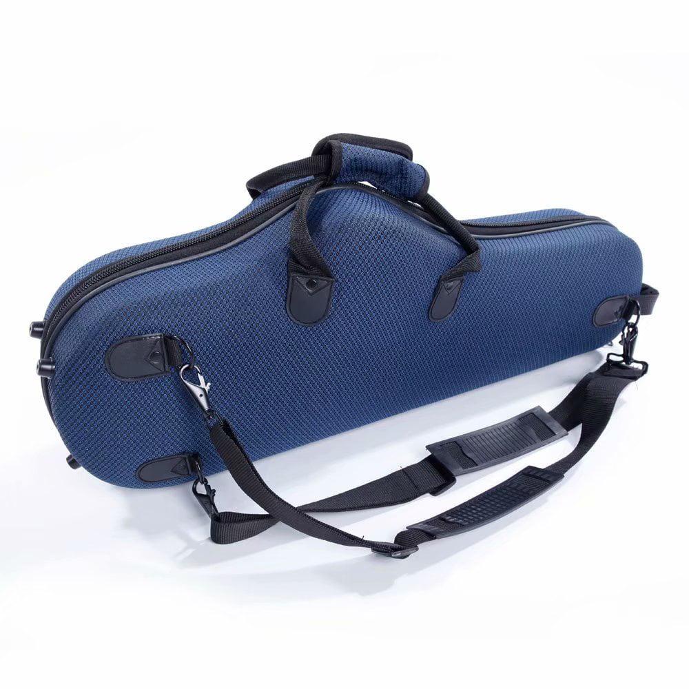 New Protable Durable Cloth Alto Saxophone Sax Case Coffee Color