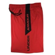 """Under Armour Men's 10"""" Raide Loose Fit Basketball Shorts Red/Black L 1309770-600"""