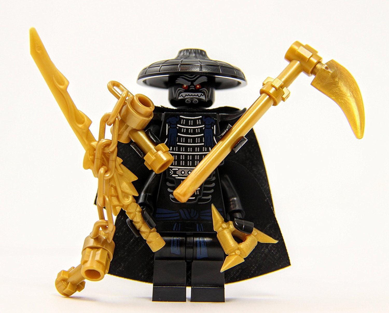 LEGO Ninjago: Ninjago - Lord Garmadon with 4 Gold Weapons ...