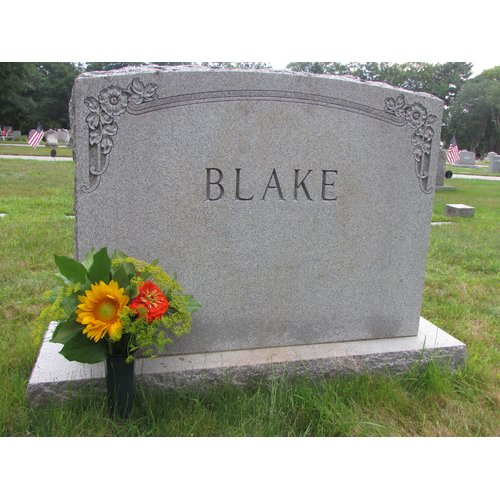 Evelots Set of 2 Cemetery Grave Patriotic Memorial Veterans Flower Cone Vases