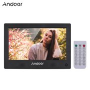 Best Digital Picture Frames - Andoer 10.1 Inch Digital Picture Photo Frame LED Review