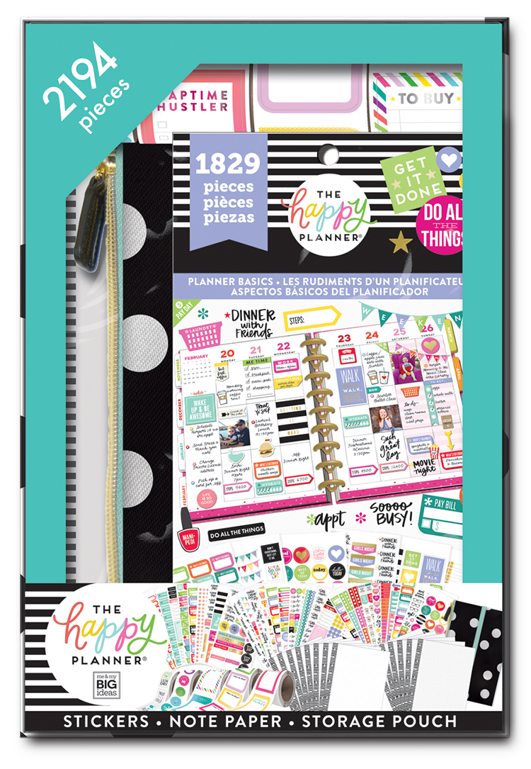 Me & My Big Ideas Happy Planner-classic Accssry Kit-get It