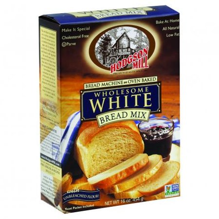 Hodgson Mill Wholesome White Bread Mix, 16 Ounce