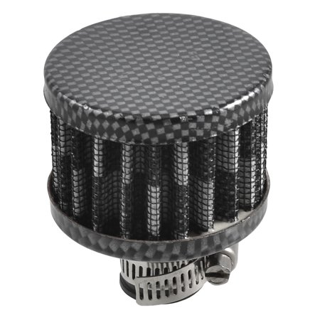 0.5 Inlet Air Filter (Car Black Gray Check Pattern 11mm 0.5