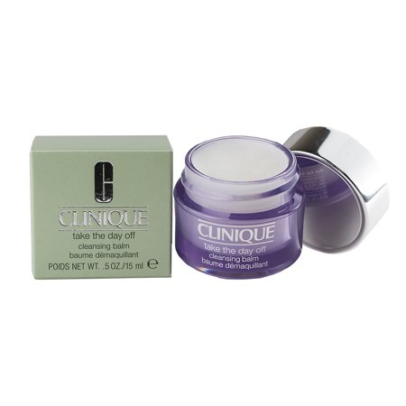 (Clinique Take the Day Off Cleansing Balm Lightweight Makeup Remover - Travel Size 0.5oz/15ml)