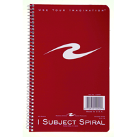 Wirebound Notebook 1 Subject College Ruled - Quantity of 36 - PT -  12002