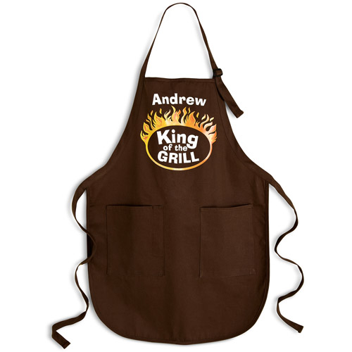 """Personalized """"King of the Grill"""" Apron"""