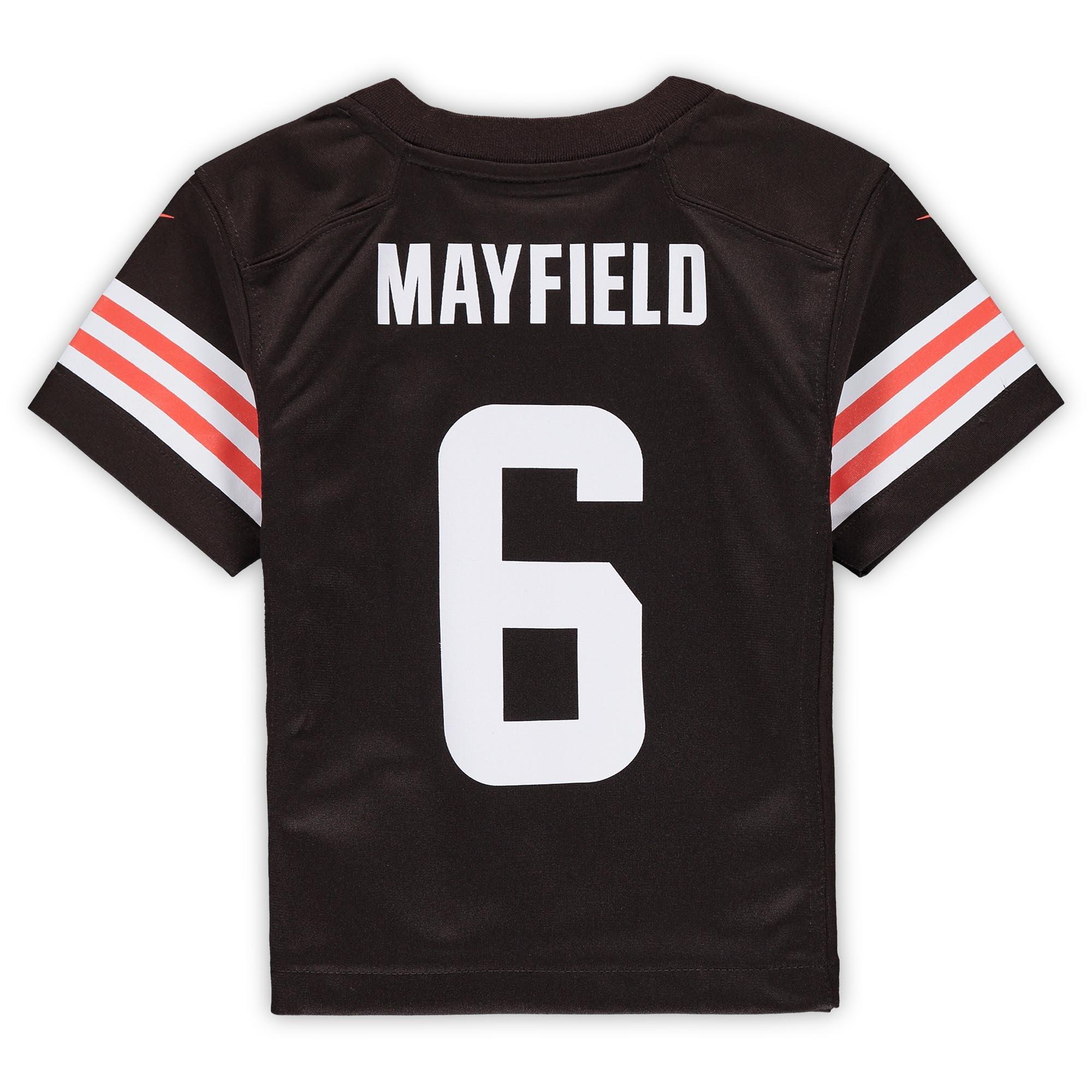 baker mayfield kids jersey