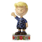 Jim Shore for Enesco Peanuts Schroeder Personality Pose Figurine, 4.75""
