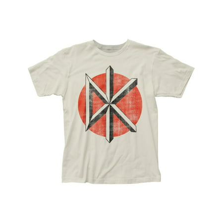 Dead Kennedys Punk Rock Band Vintage Logo Adult Fitted Jersey T-Shirt Tee (The Dead Kennedys Halloween)