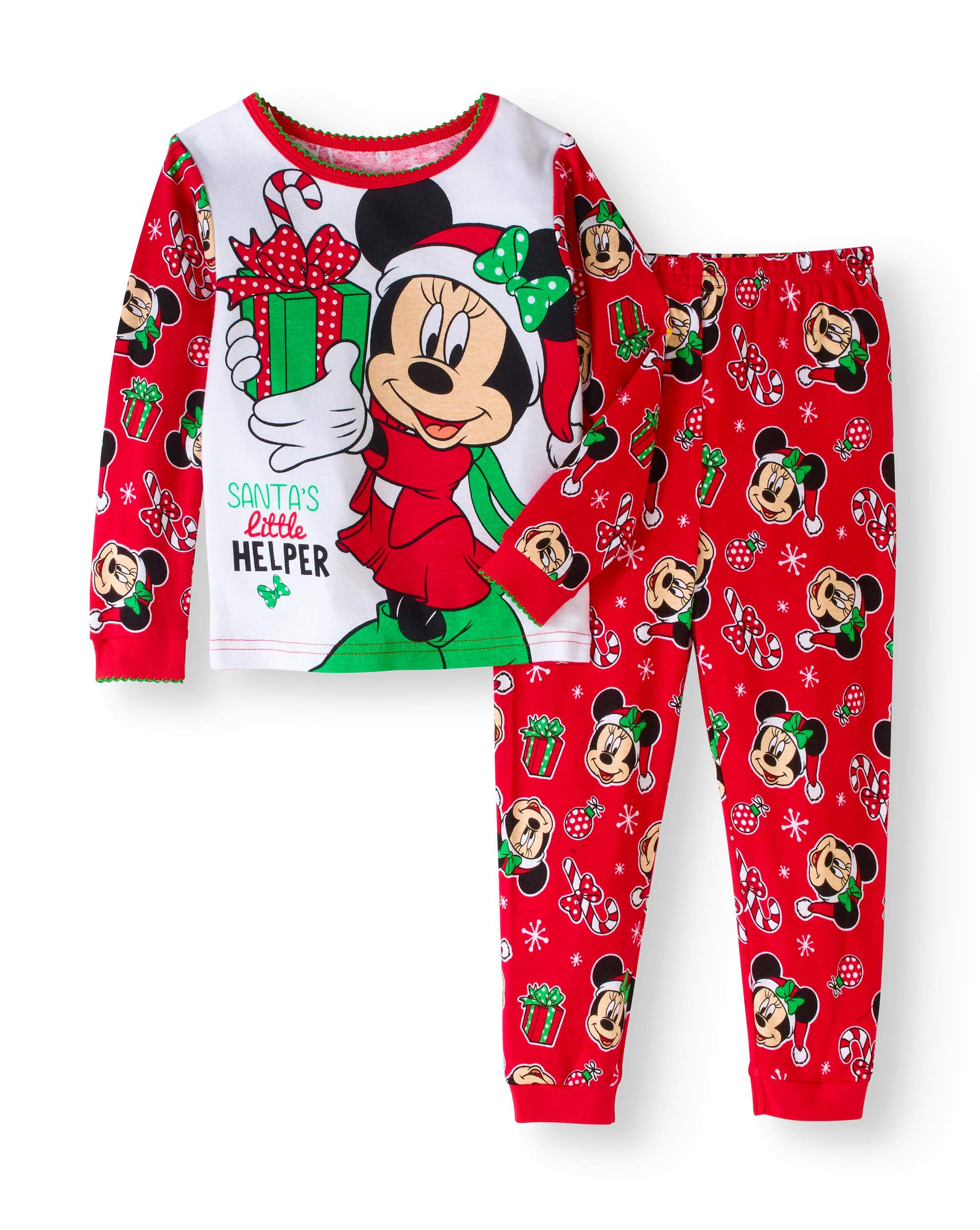 badeb2c4a Christmas Baby Toddler Girls  Long Sleeve Cotton Tight Fit Pajamas 2 ...