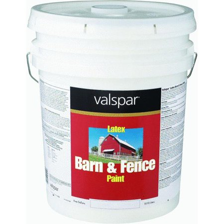 Valspar Latex Paint Primer In One Flat Barn Fence Paint