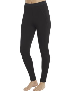 ClimateRight by Cuddl Duds Women's and Women's Plus Plush Warmth Long Underwear Legging